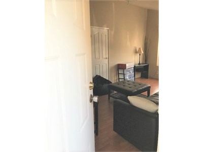 Fully furnished, large 1 bedroom on ground level with private entrance